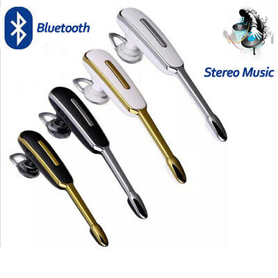 Bluetooth Wireless Headset Stereo Headphone Sport Universal For Samsung iPhone T