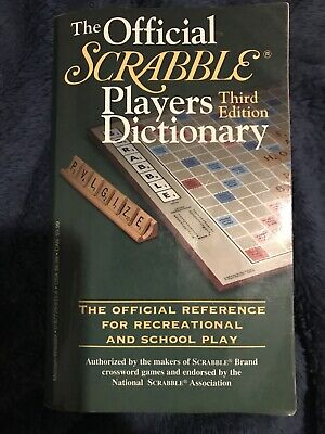 Official Scrabble Players Dictionary Third Edition