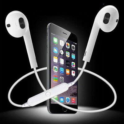 Wireless Bluetooth Headset Stereo Headphone Earphone Sport for iPhone Samsung CH