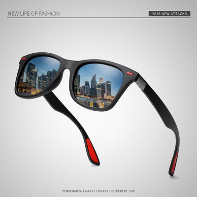 Outdoor Sport Glasses Mens Polarized Cycling Driving Fishing Sunglasses UV400
