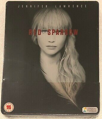 Red Sparrow 4K Steelbook - UK Exclusive Ltd Edition 4K and HD Blu-Ray