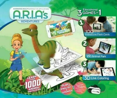 Odyssey A.R.I.A/'s Adventures Educational Gaming System English and Spanish VR