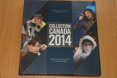 Canada 2014 Annual Collection - Mint Book And Binder - Still Sealed! New!