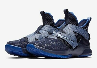 3204a9540f0c NEW Nike Lebron Soldier XII Basketball Shoes Anchor Blue Men s AO2609-401  Size 7