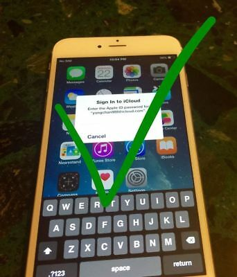 iCloud Lock Removal Service iPhone iPad iPod ID Activation UnLock OFF! 1-12hrs
