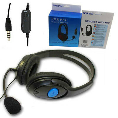 Premium Deluxe Gaming Headset PS4 Headphones Headset Style +Mic & live chat VHE