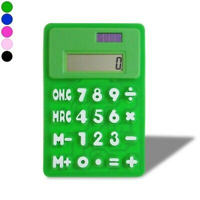 Calculatrice pliable jaune