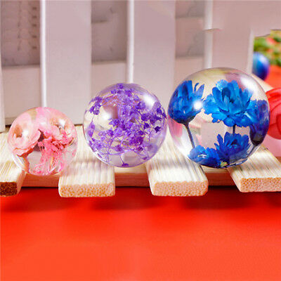 Silicone Ball Pendant Jewelry Mold Craft DIY Resin Round Making Necklace Jian