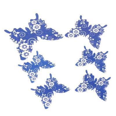 12pcs 3D PVC Butterflies Butterfly Art Decal Home Decor Wall Mural Stickers Jian