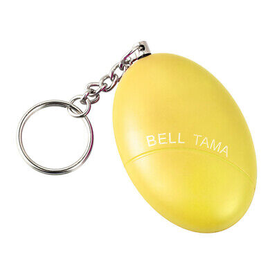 Loud Personal Alarm Keychain - Small Harsh Emergency Safety Self Defence Device