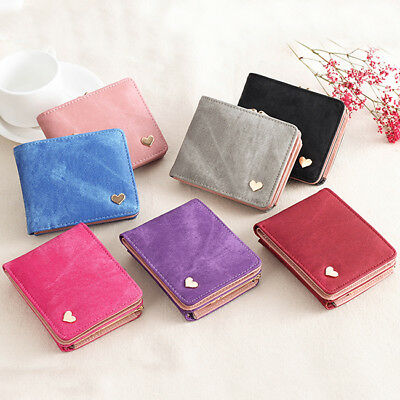Women Wallet Small Hasp Coin Purse Female Mini Leather Clutch Card Holder