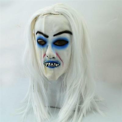 Scary Zombie Ghost Mask Tricky Horror Grimace Halloween Prop Decorations New J