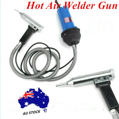 1000W Split Plastic Welder Torch+ Heat Air Welding Gun & Pipe Power Supply Tool