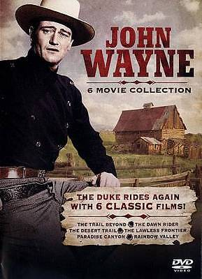 NEW!! John Wayne: 6 Movie Collection (DVD, 2013)