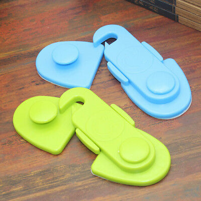 ABS Safety Door Lock Child Protection Anti Pinch Hand Security Measure Home Jian