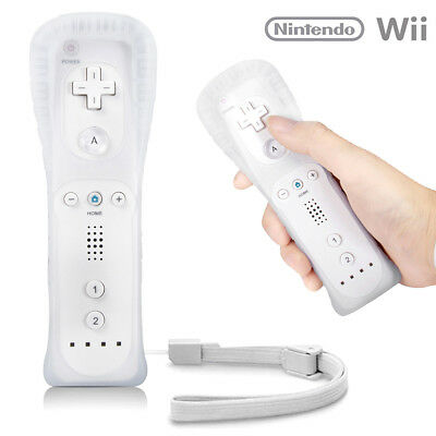 1/2X White Remote Wiimote Nunchuck Controller Set Combo for Nintendo Wii Game