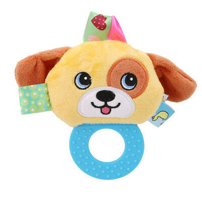Cute Cotton Baby Boy Girl Rattles Infant Animal Hand Bell Kids Plush Toy Jian