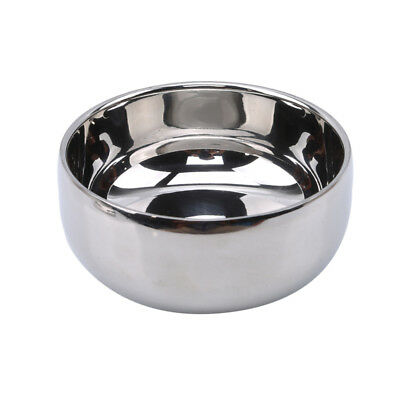 Double Layer Stainless Steel Shaving Bowl Mug With Lid For Shave Brush jian