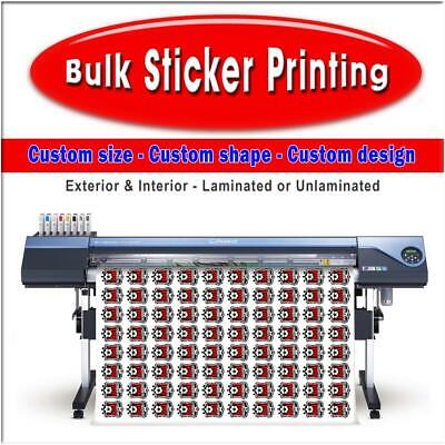 Bulk Sticker Printing - Amateur Football Clubs - Made to your requirements