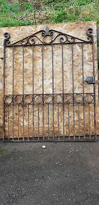 Reclaimed Cast Iron Garden Gate Very Heavy Vintage Antique