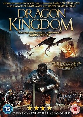 DRAGON KINGDOM  (DVD) (NEW) (RELEASED 7th JANUARY) (FREE POST)