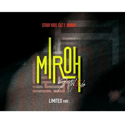 Stray Kids-[Cle 1:Miroh] Limited Album CD,Book,Card,Post Pre Order boma