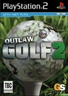 PS2 / Sony Playstation 2 game - Outlaw Golf 2 boxed