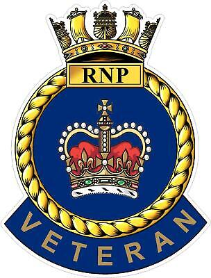 Royal Navy Police Veteran Sticker - Uk - Cars - Vans - Laptops