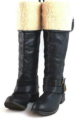 0785d28f71d JUST FAB - Womens Over Knee High Boots Black Size 4 - £7.50 ...