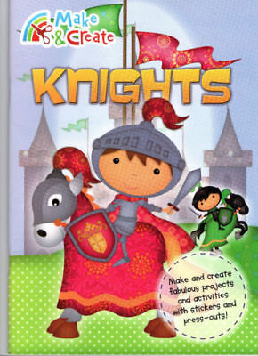Make & Create Knights - Stories - Stickers - Press-Outs Free Post Pack