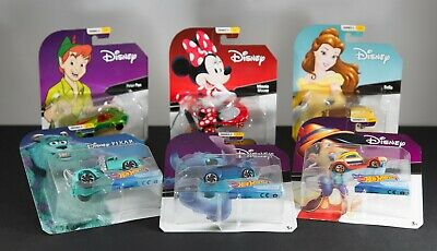 New 2019 Hot Wheels Disney Character Cars - Series 2 - Complete your Set!