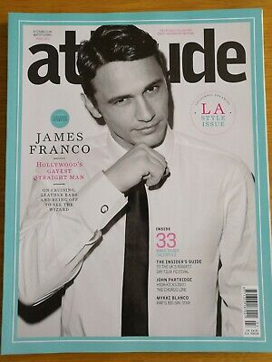 Attitude Magazine - April 2013 - James Franco