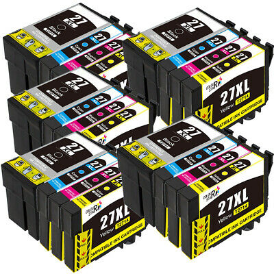 20 Ink Cartridges XXL (Set) for Epson WorkForce WF-3620 WF-7710DWF WF-3640DTWF