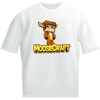 T-shirts & Tops Cheap Sale Unspeakable Kids White T Shirt Childrens Gaming Unspeakablegaming Pancake Bot Boys' Clothing (2-16 Years)