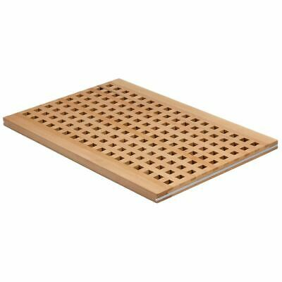 APS Breadstation Cutting Chopping Board with Holes Made of Wood 20x340x520mm