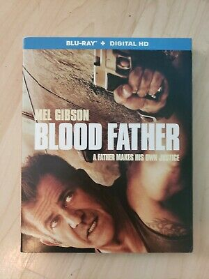 Blood Father O-ring Mel Gibson 88 minutes Action & Adventure discs 1 Blu-ray NEW
