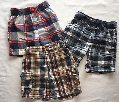 Baby & Toddler Clothing Carters 2t 24 Month Baby Boys Shorts Lot Of 9 Summer Spring Plaid Navy Khaki Clothing, Shoes & Accessories