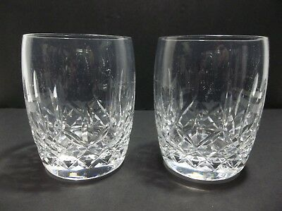 Waterford Crystal LISMORE TRADITIONS Glasses Set Of 2
