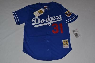 2901f87e316 Mitchell   Ness Mike Piazza 1997  31 Mesh BP Jersey Los Angeles Dodgers 48  XL