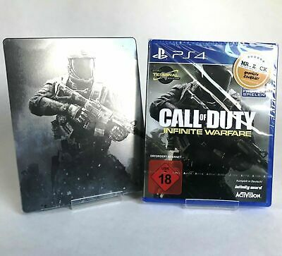 Call Of Duty Infinite Warfare Sony PlayStation 4 PS4 Action Game Spiel Steelbook