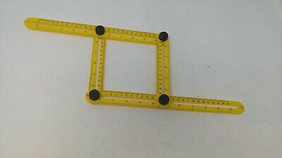 Multi Angle Measuring Ruler,Multi Function Template Tool Folding Angle Bolts and