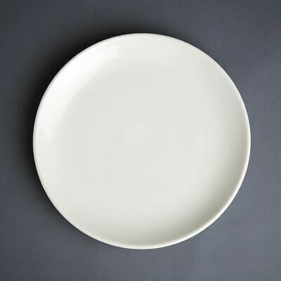 Pack of 12 Olympia Ivory Coupe Plate 230mm Porcelain
