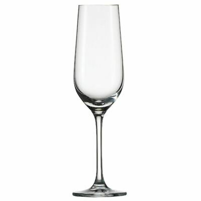 Pack of 6 Schott Zwiesel Bar Special Crystal Champagne Flutes 174ml Glasses