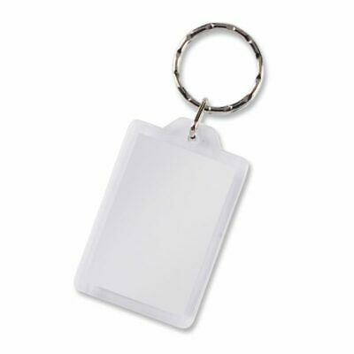 250 x Printed Lens Key Ring Rectangle Bulk Gifts Promotion Business Merchandise