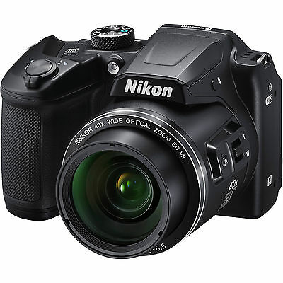 Nikon COOLPIX B500 16.0MP Digital Camera 26506 (Black) - Awesome Price