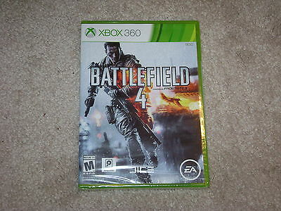 Battlefield 4...xbox 360...***sealed***brand New***!!!!!