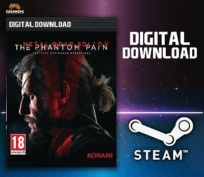 Metal Gear Solid V: The Phantom Pain [Pc] (2015) Steam Download Key 🎮🔑