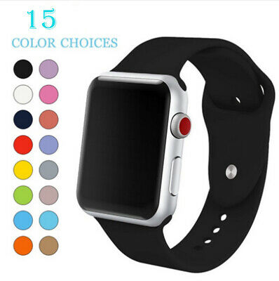 For Apple Watch OEM Genuine Wristband Sport Band Series 1 2 3 4-38/40/42/44mm