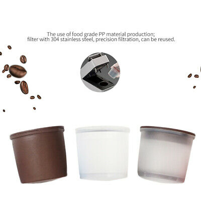 Set Of Coffee Filter Capsule Refillable Capsulone Cups For Illy Iperespresso New