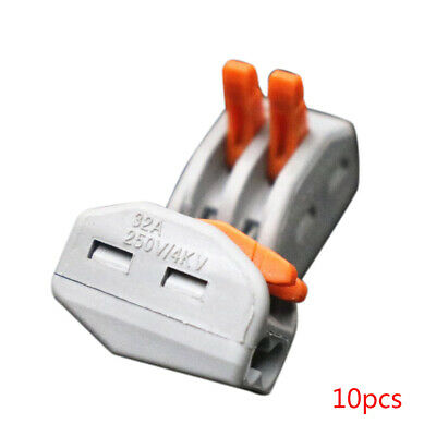 10 pcs/lot Universal Compact Wiring Wire Connector Conductor Terminal Block